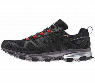 Adidas - Response Trail 21 GTX men's running shoes (black/orange)