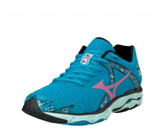 Mizuno - Wave Inspire 10 Ladies Running Shoes (blue/pink)