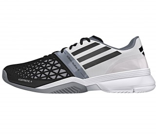 Adidas - CC Adizero Feather III men's tennis shoes (black/white)