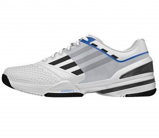 Adidas - Sonic Rally Men\'s tennis shoes (white/blue)