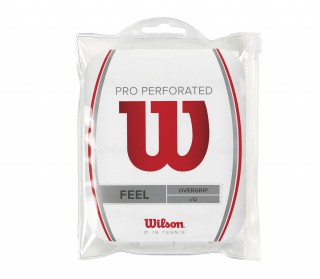 Wilson - Pro Overgrip Perforated - 12 pack (white)