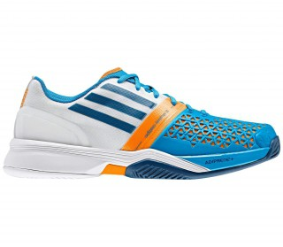 Adidas - Adizero feather III Synthetic Men´s Tennis shoes (white/blue)