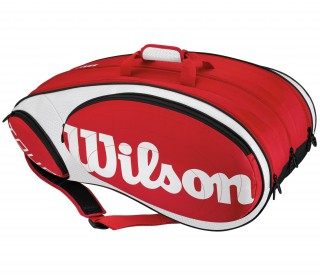 Wilson - Tour 12 Racket Bag red/white