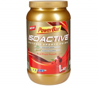 PowerBar - Isoactive Red Fruit Punch, 1.320 g can