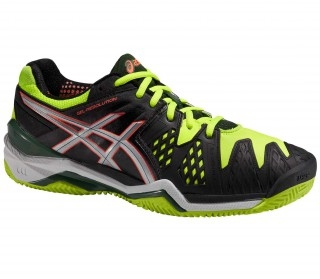 Asics - Gel-Resolution 6 Clay men's tennis shoes (yellow/black)