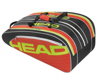 Head - Elite Monstercombi tennis bag (black/red)