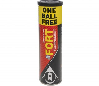 Dunlop - Fort Tournament - 4 Balls (3 + 1 Ball Free)