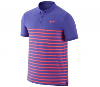 Nike - Nike Advantage DF Cool men's tennis polo shirt (red/purple)