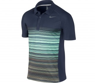 Nike - Tennis T-Shirt Advantage UV Stripe Polo - SU13