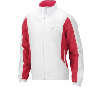 Head - Club Men´s Tracksuit Jacket white/red