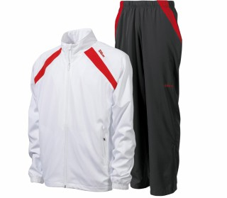 Wilson - Woven Tracksuit white/red
