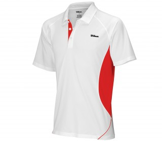 Wilson - Performance Polo white/red