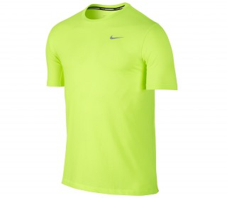 Nike - Dri-Fit Cool Shortsleeve men's running shirt (yellow)