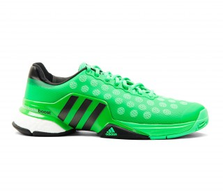Adidas - Barricade 2015 Boost men's tennis shoes (green)