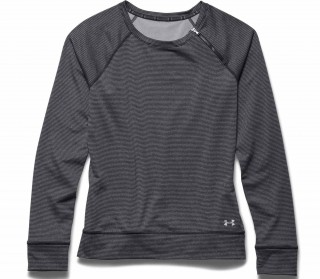 Under Armour - Coldgear Cozy Zip Crew Women\'s Training Jumper (black/silver)