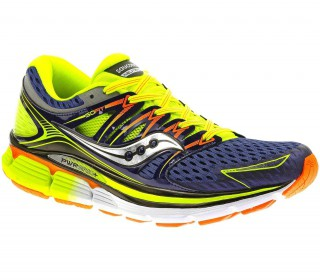 Saucony - Triumph Isoseries men's running shoes (blue/yellow)