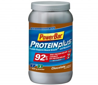 Powerbar - ProteinPlus 92 Percent Chocolate , 600 Gram