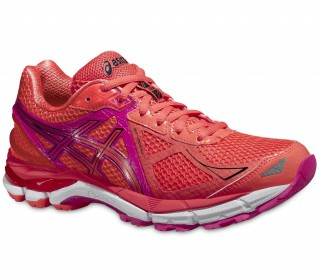 Asics - GT-2000 3 women's running shoes (pink/orange)
