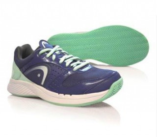 Head - Zora Clay Limited women's tennis shoes (blue/green)