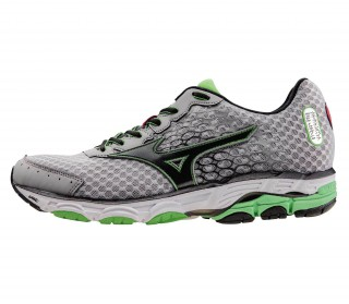 Mizuno - Wave Inspire 11 men's running shoe (green/ black)
