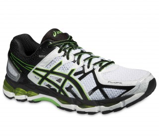 Asics - Gel Kayano 21 men's running shoes (white/black)