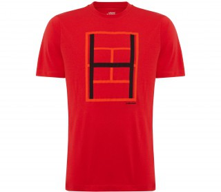 Head - Race Herren Tennisshirt (rot)