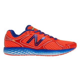 New Balance - M980 V1 Herren Laufschuh (orange/blau)