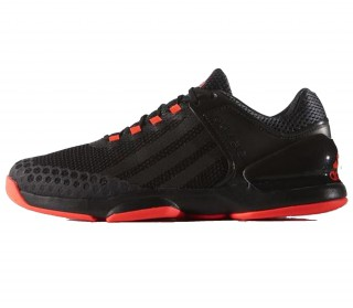 Adidas - Adizero Ubersonic Clay men's tennis shoes (black/red)