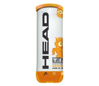 Head - 3 Bälle HEAD TIP orange - Tennisbälle