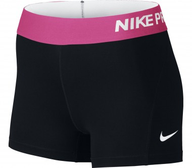 Nike - Pro Cool 3 Inch Women training shorts (black/pink)
