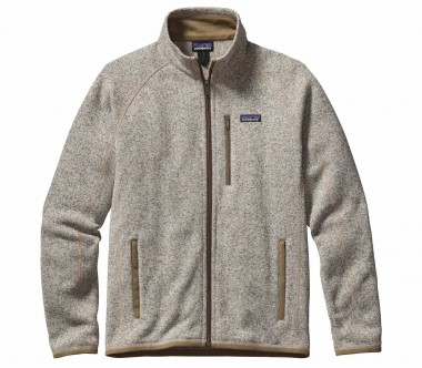 Patagonia - Better sweater men's knitted fleece jacket (light brown)