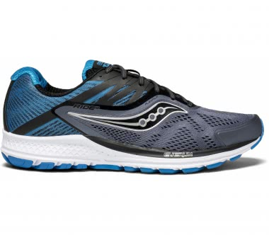 Saucony - Ride 10 men\'s running shoes (grey/black)