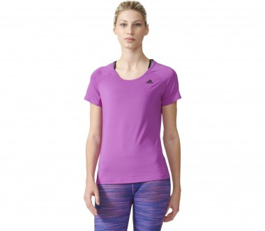 Adidas - Basic Solid Performance women's training top (violet)