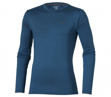Asics - Performance long-sleeved men's training top (blue)