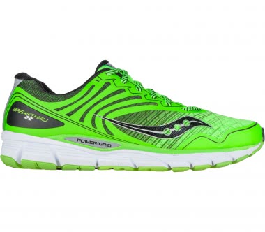 Saucony - Breakthru 2 men's running shoes (green/black)