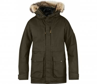 Fjällräven - Barents men's parka (dark green)