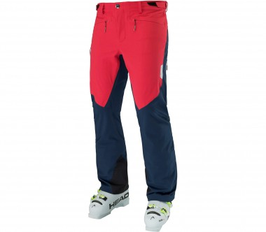 Head - Stelvio Shell men's ski pants (red/black)