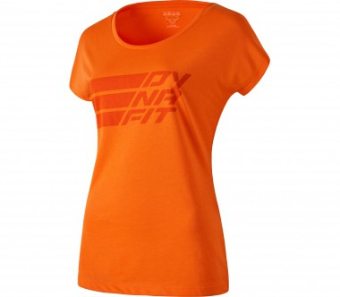 Dynafit - Compound Shortsleeve Tee women's functional top (orange)