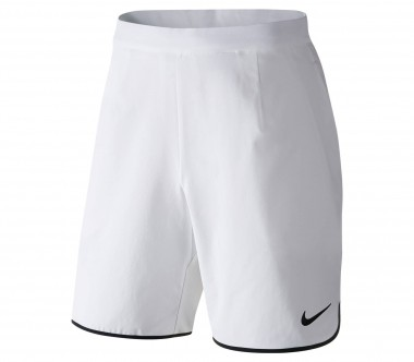 Nike - Gladiator 9 Inch men's tennis shorts (white/black)