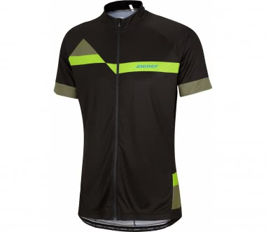 Ziener - Cardo men's top (black/green)