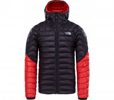 The North Face - Summit L3 Down hoodie men's down jacket (black/red)