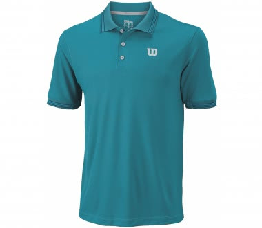 Wilson - Star Tipped men's tennis polo top (blue)