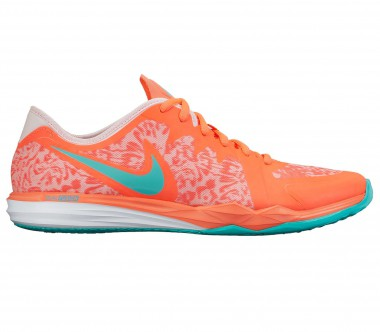 Nike - Dual Fusion Trainer 3 Print women's training shoes (orange)