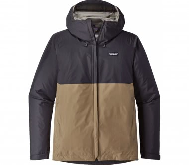 Patagonia - Torrentshell men's hard shell jacket (dark blue/brown)