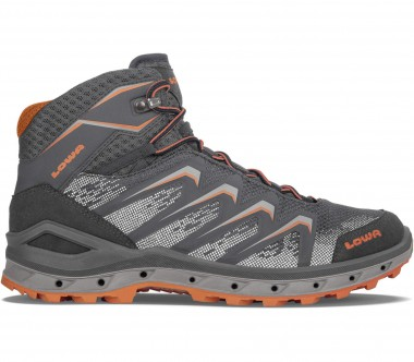 Lowa - Aerox GTX Mid men's hiking shoes (grey/orange)