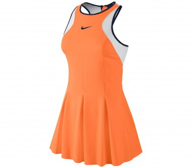 Nike - Maria Sharapova Premier women's tennis dress (orange/white)