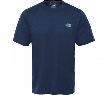 The North Face - Reaxion Amp Crew men's training top (dark blue)