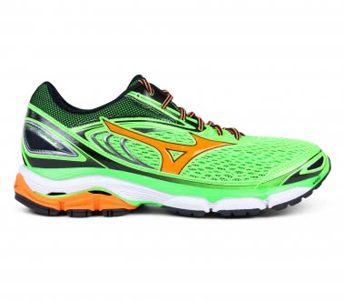 Mizuno - Wave Inspire 13 men's running shoes (green/orange)