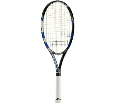 Babolat - Pure Drive 110 unstrung tennis racket (black/blue)