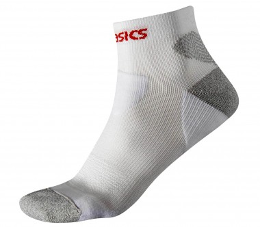 Asics - Kayano running socks (white/grey)